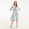 Tommy Hilfiger Icon Pleated Stripe Dress 24690