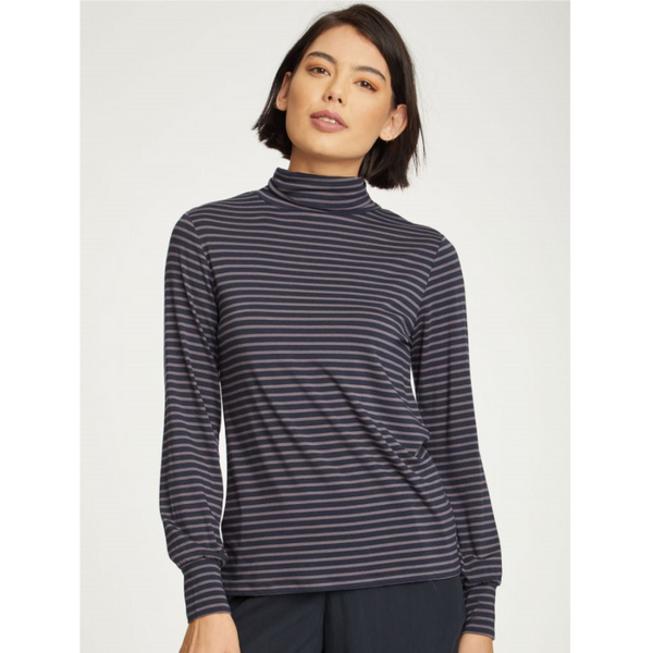 Thought Hafalda Bamboo Roll Neck Top 4388