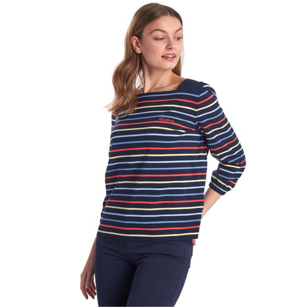 Barbour Seaview Stripe Tee LML0668