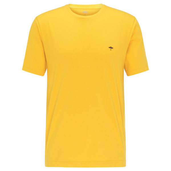Fynch Hatton Casual Fit Cotton Tee 1121-1500 - Sunlight