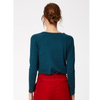 Thought Kathleen V Neck Organic Cotton And Wool Jumper 3825