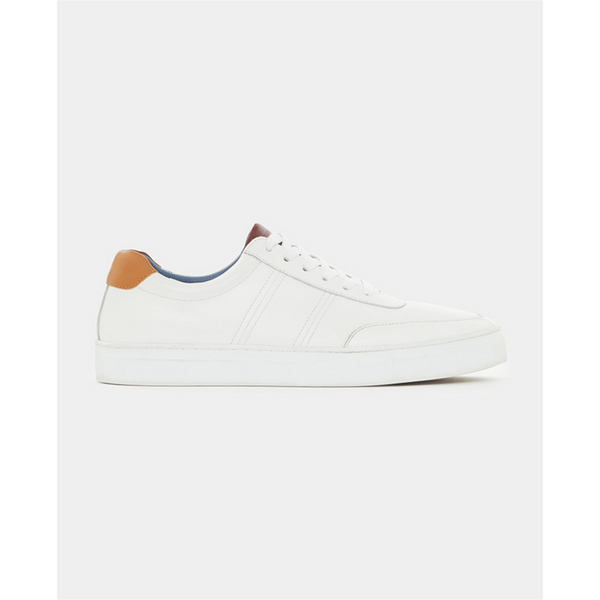 Remus Leather Sneaker Dion 02196 White