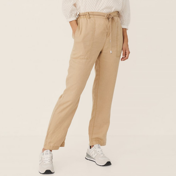 Part Two Harena Linen Pant with Drawstring 5884