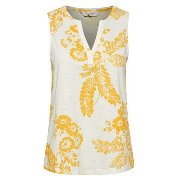 Part Two Halston Floral Vest Top 3226