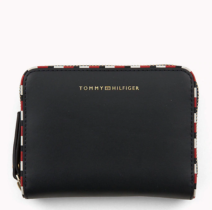 Tommy Hilfiger Signature Leather Compact Wallet 5754