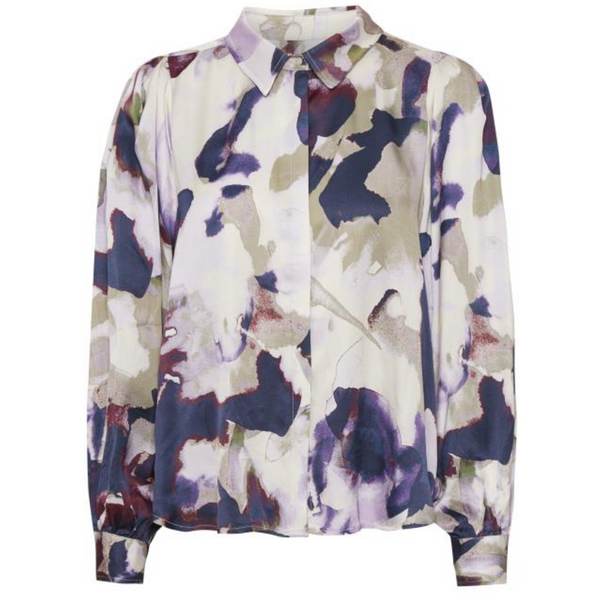 Part Two Erene Watercolour Ecovero Shirt 30305387