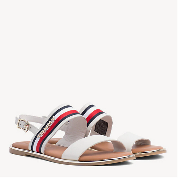 Tommy Hilfiger SIGNATURE TAPE FLAT SANDALS 4049