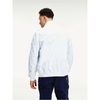 Tommy Jeans ESSENTIAL FLAG PATCH BOMBER JACKET WHITE