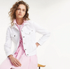 Tommy Hilfiger Veronica White Denim Jacket 4502