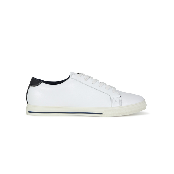 Remus Uomo Sivan Men's Leather White Pumps 02190
