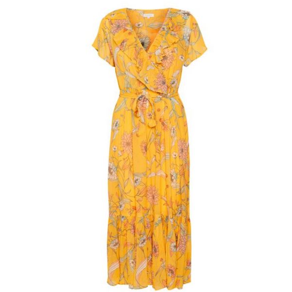 Part Two Remington Floral Wrap Dress 4149