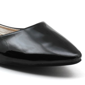 Black Patent Bellies - SB-18040