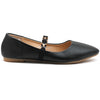 Black Artificial Leather Bellies- SB-18047