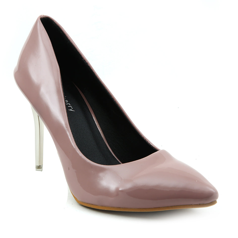 Peach Patent Pumps - SB-18105