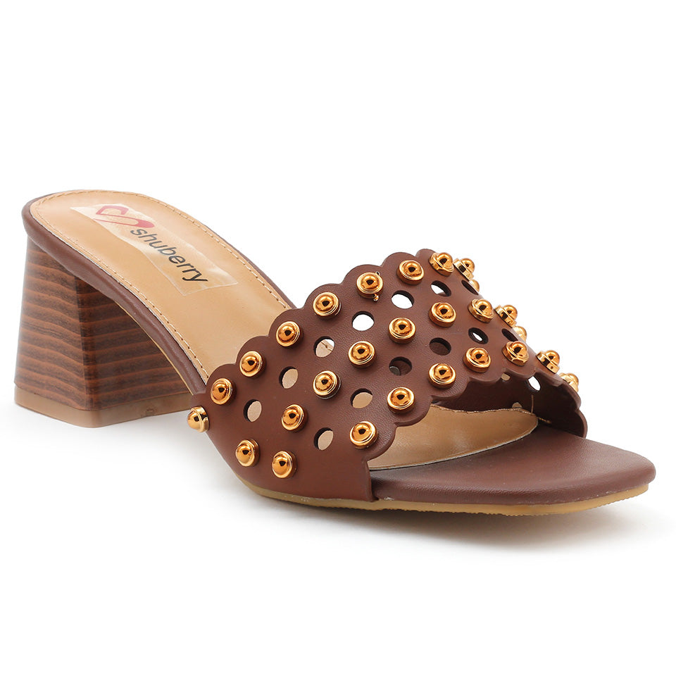 Brown Artificial Leather Sandal - SB-18119