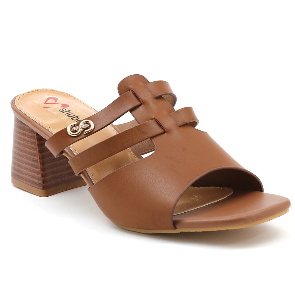 Brown Artificial Leather Sandal - SB-18120