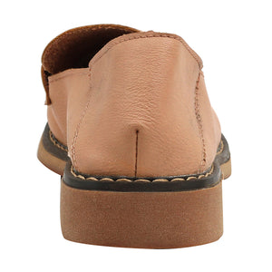 Tan Artificial Leather Loafers - SB-18138