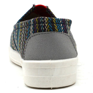 Blue Fabric Sneakers - SB-18140