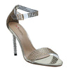 Shuberry SB-19002 Patent Gold Heels For Women