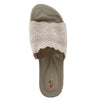 Shuberry SB-19055 Fabric Beige Flats For Women