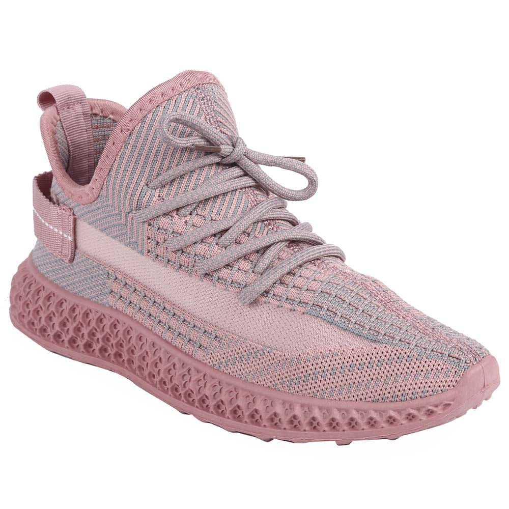 Shuberry SB-19063 Fabric Pink Colour Sneaker For Women