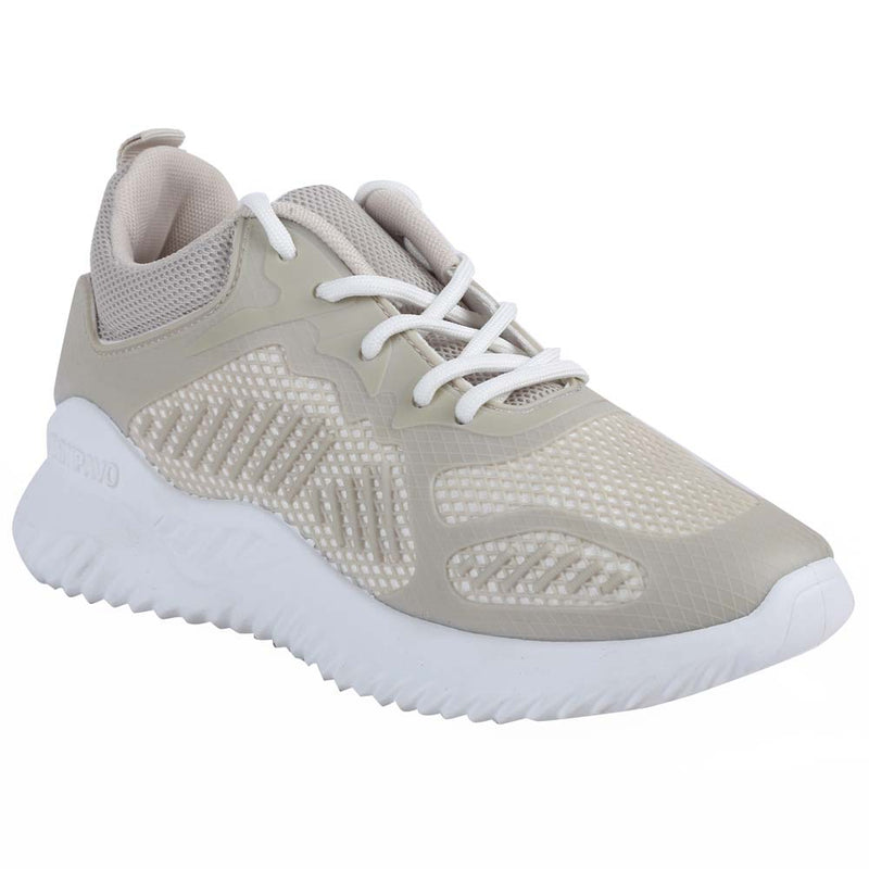Shuberry SB-19069 Mesh Beige Colour Running Shoe For Women