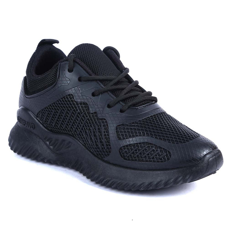Shuberry SB-19069 Mesh Black Colour Running Shoe For Women