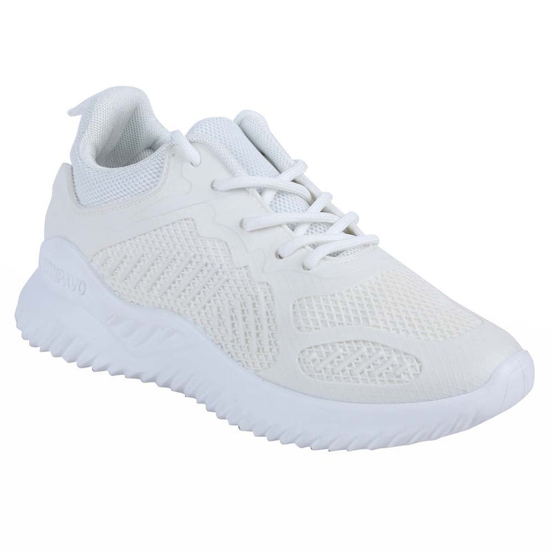 Shuberry SB-19069 Mesh White Colour Running Shoe For Women