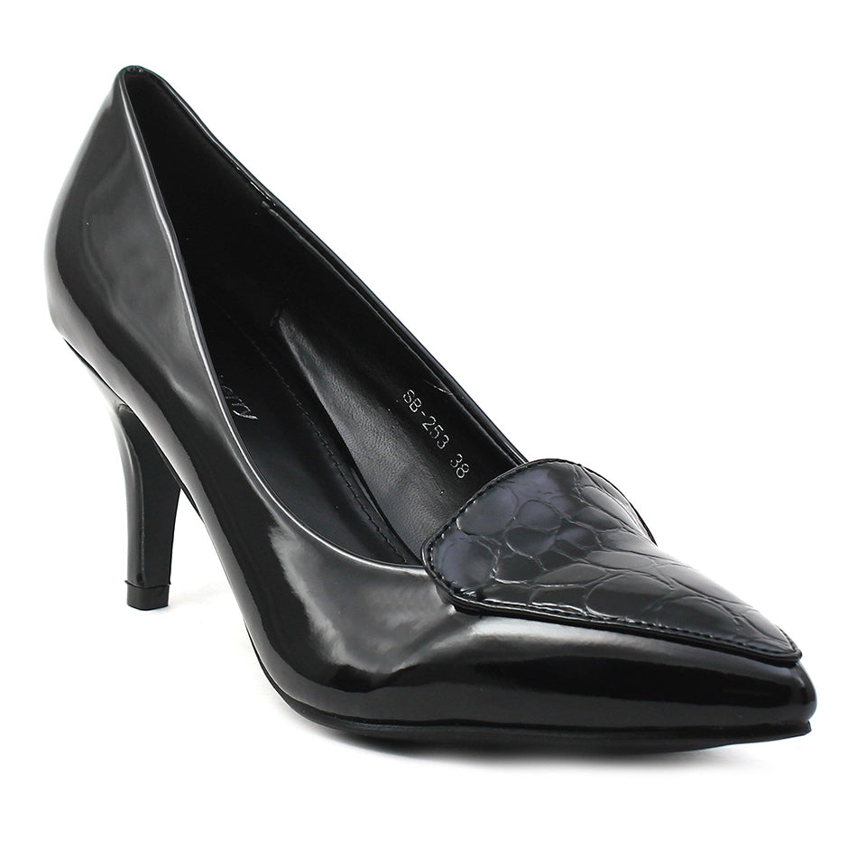 Black Patent Pumps SB-253