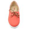 Peach Synthetic Sneaker SB-278