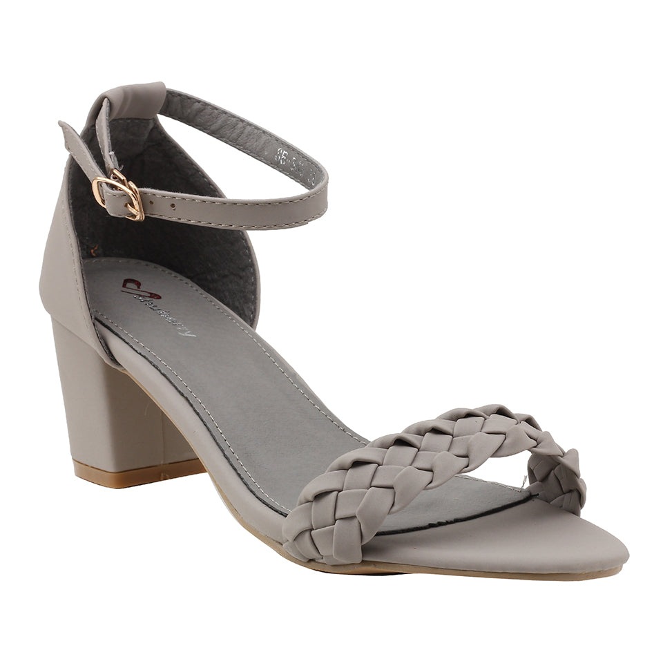 Grey Synthetic Sandal - SB-363