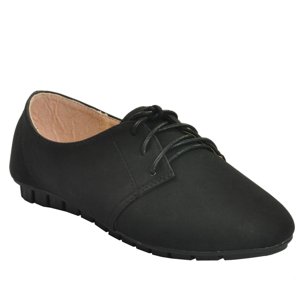 Black Artificial Leather Casual Shoe SB-451