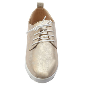 Gold Artificial Leather Sneaker SB-472