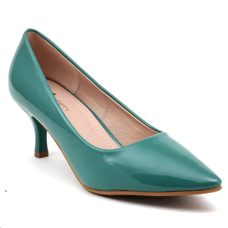 Green Patent Pumps - SB-508