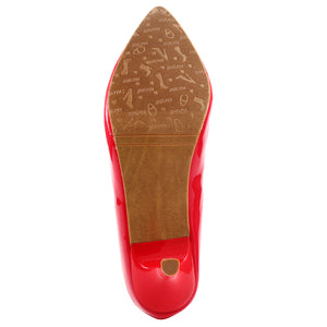 Red Patent Pumps SB-508