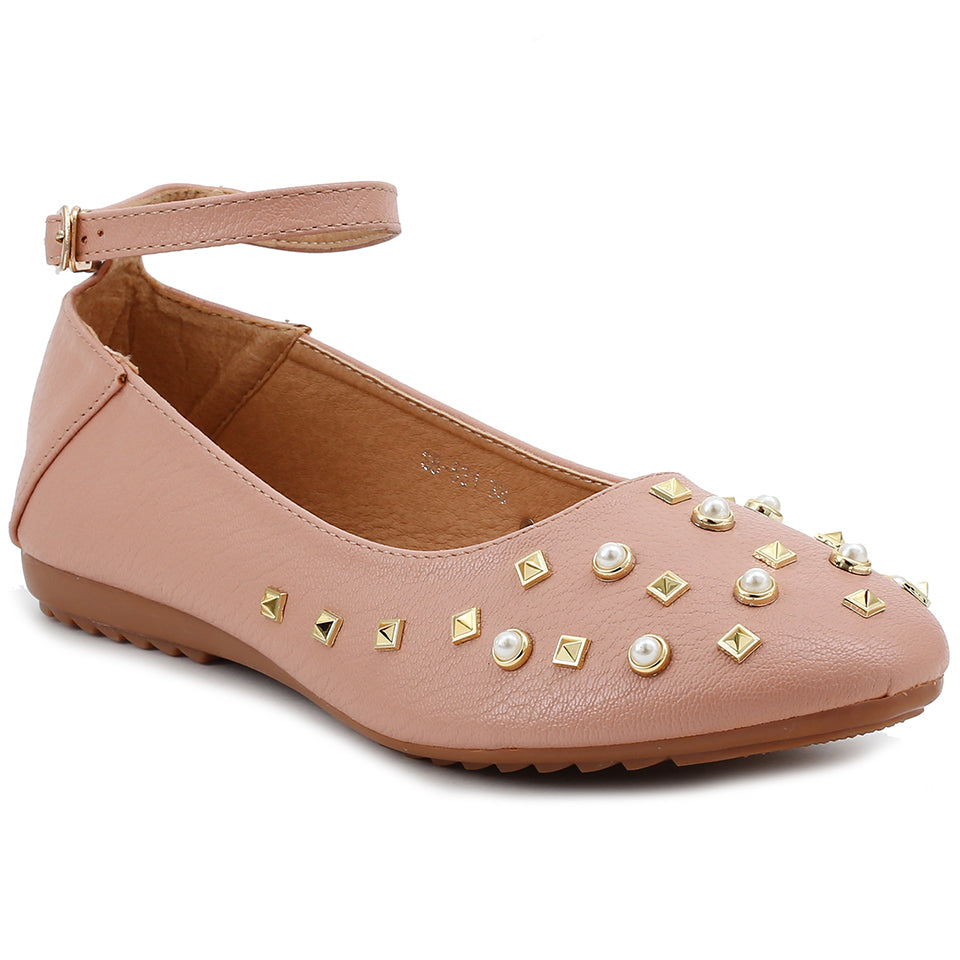 Peach Artificial Leather Bellies SB-531