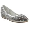 Silver Faux Leather Bellies SB-532