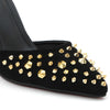 Shuberry SB-902 Suede Black Heels For Women