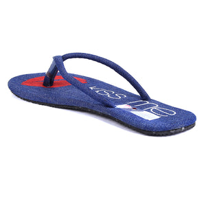 Navy Denim Flip-Flops SB-Z1825