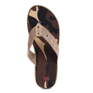 Camouflage Fabric Flats SB-Z1828
