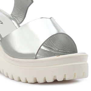 Silver Patent Wedges SB-430