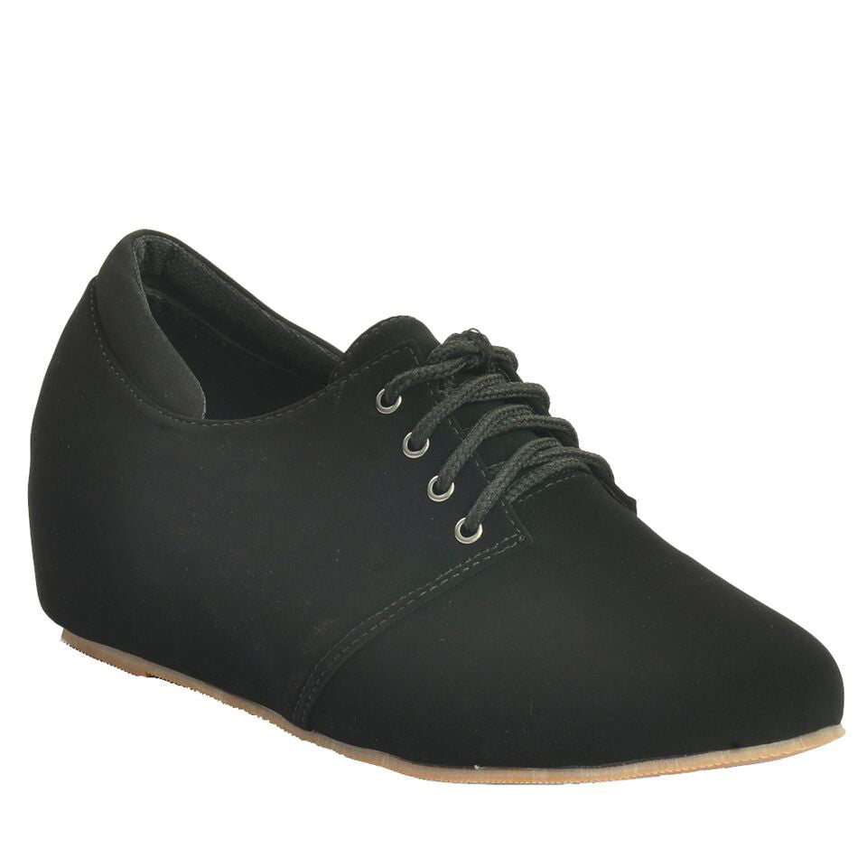 Black Synthetic Casual Shoe SB-449