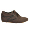 Brown Faux Leather Casual Shoe SB-446
