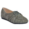 Grey Faux Leather Oxford SB-453