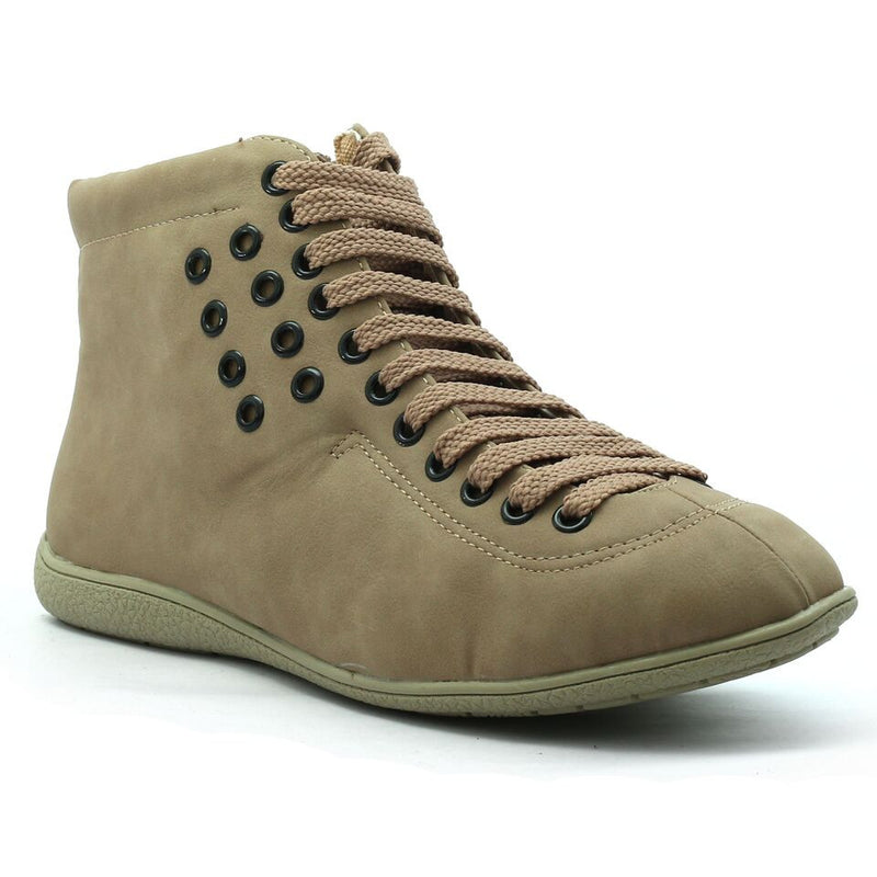 Khaki Synthetic Sneaker SB-763