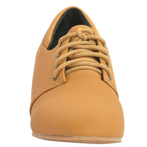 Tan Synthetic Casual Shoe SB-449