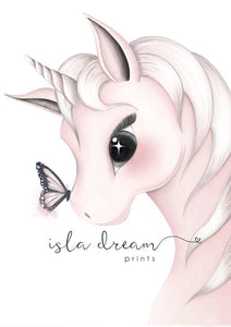Isla Dream Print Mila the Unicorn