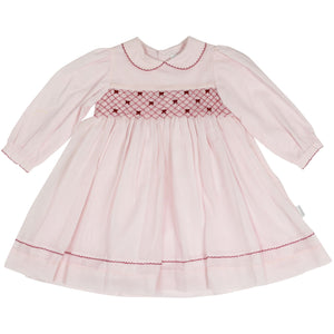 Korango Collar Smock Dress - Pink