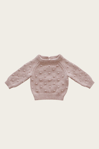 Jamie Kay Dotty Knit - Bubble Gum Fleck