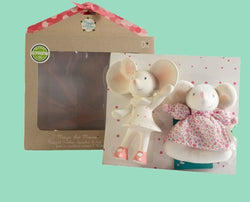 Meiya Mouse Teether & Rattle Gift Set